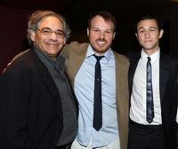 Steve Gilula, Marc Web and Joseph Gordon-Levitt at the after party of the California premiere of