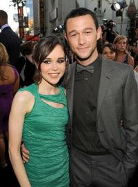 Ellen Page and Joseph Gordon-Levitt at the premiere of