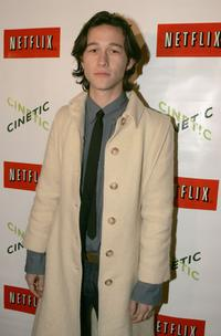 Joseph Gordon-Levitt at the Cinetic Media party during the 2005 Sundance Film Festival.