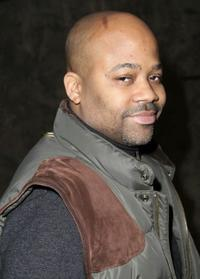 Damon Dash at the Donna Karan's private reception.