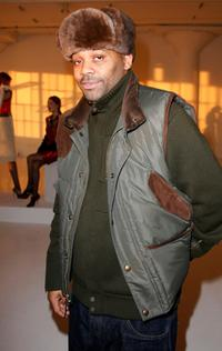 Damon Dash at the Rachel Roy Fall 2008 Collection.
