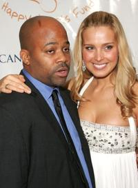 Damon Dash and Petra Nemcova at the