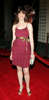 Rini Bell at the premiere of