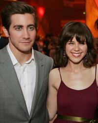 Jake Gyllenhaal and Rini Bell at the after party of the premiere of