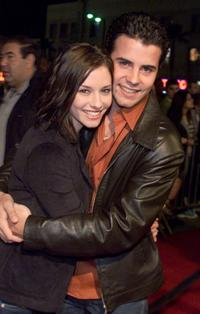 Chyler Leigh and Nathan West at the FOX-TV's party.