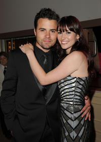 Nathan West and Chyler Leigh at the 2nd Annual Thirst Project Gala in California.