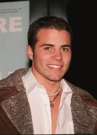 Nathan West at the premiere of