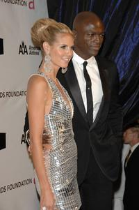 Heidi Klum and Seal at the 16th Annual Elton John AIDS Foundation Academy Awards.