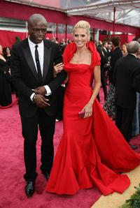 Seal and Heidi Klum at the 80th Annual Academy Awards.