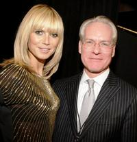 Heidi Klum and Tim Gunn at the