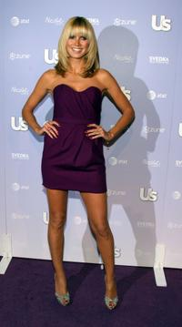 Heidi Klum at the Us Weekly Hot Hollywood Hottest Style Makers Party.
