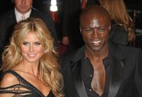 Heidi Klum and Seal at the 2007 Victoria's Secret Fashion Show.