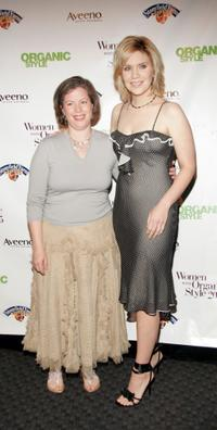 Maria Rodale and Alison Krauss at the Organic Style Magazine awards ceremony.