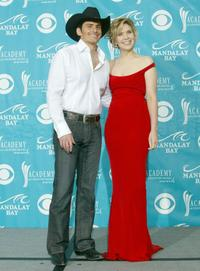 Brad Paisley and Alison Krauss at the 39th Annual Country Music Awards.