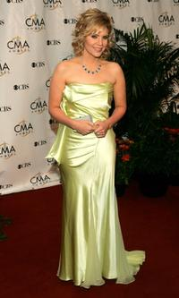 Alison Krauss at the 38th Annual CMA Awards.