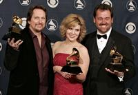 Jerry Douglas, Alison Krauss and Dan Tyminski at the 48th Annual Grammy Awards.