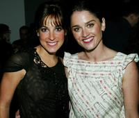 Lindsay Sloane and Robin Tunney at the world premiere of