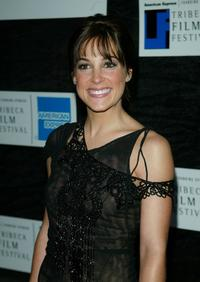 Lindsay Sloane at the world premiere of