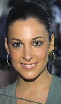 Lindsay Sloane at the premiere of
