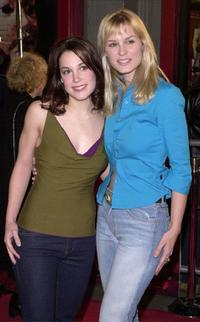 Lindsay Sloane and Bonnie Somerville at the premiere of