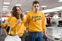 Lindsay Sloane as Marnie and Jay Baruchel as Kirk in