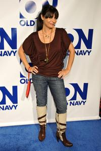 Callie Thorne at the Old Navys Celabration of New Year New Old Navy.