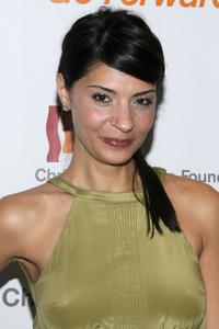 Callie Thorne at the Christopher Reeve Foundation Annual Gala.
