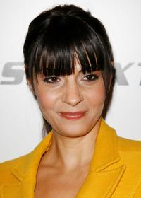 Callie Thorne at the opening of Energie Miss Sixty store.