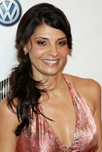 Callie Thorne at the premiere of
