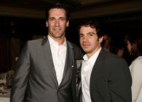 Jon Hamm and Chris Messina at the Hollywood Foreign Press Association's Annual summer luncheon.