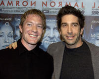 Joe Sikora and David Schwimmer at the California premiere of