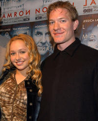 Hayden Panettierre and Joe Sikora at the California premiere of