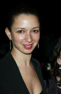 Maya Rudolph at the amfAR benefit honors gala.