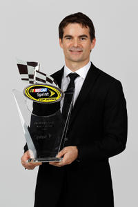 Jeff Gordon at the NASCAR Sprint Cup Series Awards Banquet in Las Vegas.