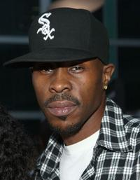 Wood Harris at the screening of