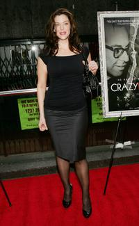 Kim Director at the premiere of
