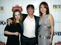 Rachel Miner, Director Tom Zuber and Erica Leerhsen at the after party of