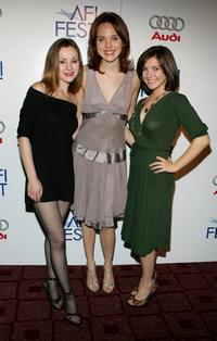 Rachel Miner, Erica Leerhsen and Michelle Horn at the screening of