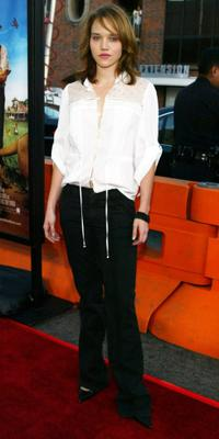 Erica Leerhsen at the premiere of