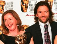 Dean Lennox Kelly and Guest at the Pioneer British Academy Television Awards.