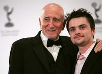 Dominic Chianese and Robert Iler at the 34th International Emmy Awards.