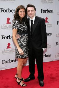 Jamie-Lynn Sigler and Robert Iler at the St. Jude's Children's Research Hospital Benefit.