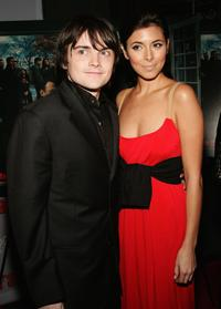 Robert Iler and Jamie-Lynn Sigler at the premiere of