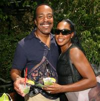 Robert Gossett and Tichina Arnold at the Frederic Fekkai Pre-Emmy
