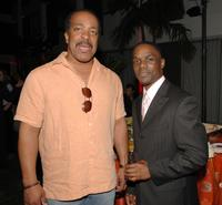 Robert Gossett and Greg Davis Jr. at the 2008 Summer TCA Tour Turner Party.