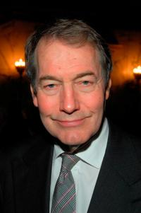 Charlie Rose at the Light House International Henry A. Grunwald luncheon and awards ceremony.