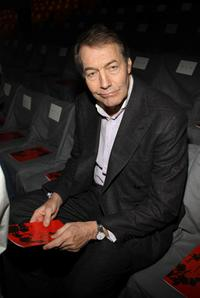 Charlie Rose at the Diane Von Furstenberg Fall 2008 fashion show during the Mercedes-Benz Fashion Week Fall 2008.