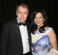 Charlie Rose and Datin Azrene Abdullah at the Earth Awards Gala.