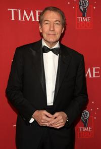 Charlie Rose at the TIME's 100 Most Influential People Gala.