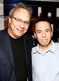 Gilbert Gottfried and Lewis Black at the DVD release party of